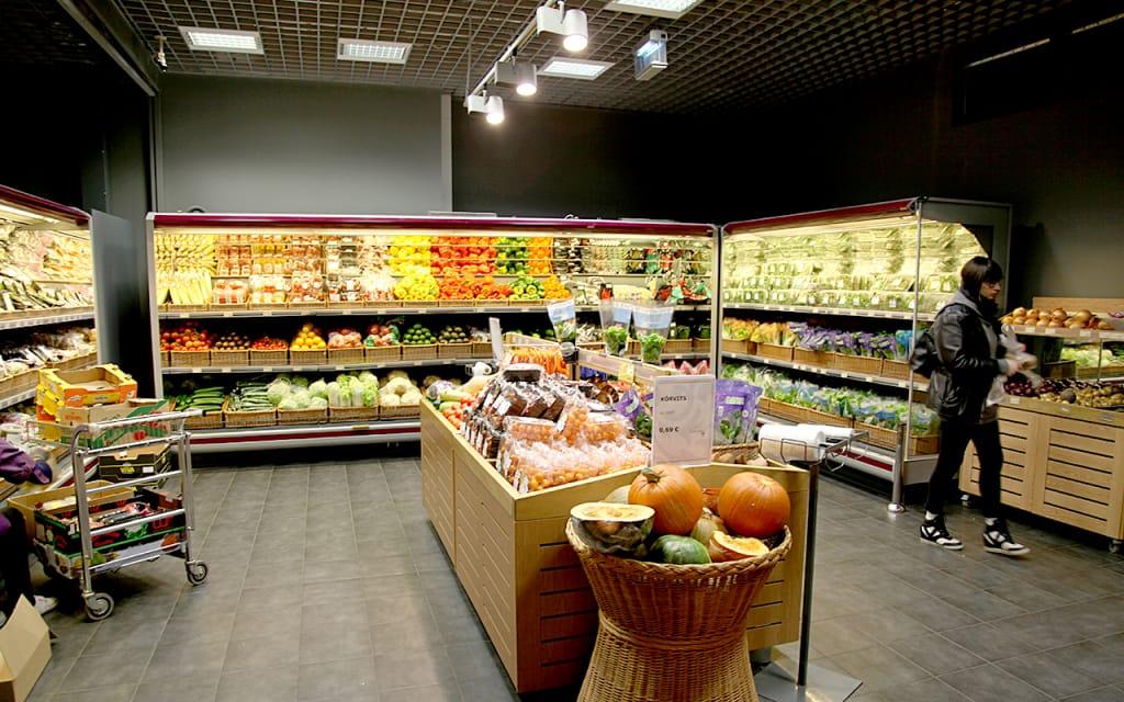 バルト三国のスーパー