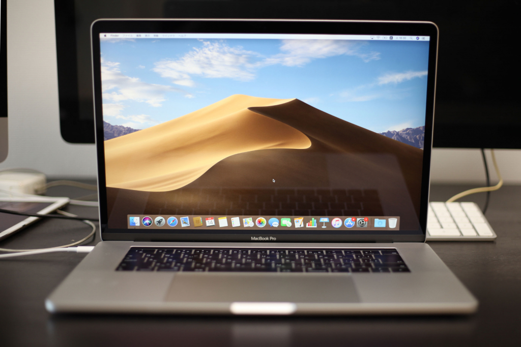 macbookpro 2018 15インチ整備品購入&レビュー